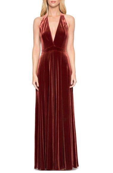 Willow Clay Velvet Maxi Dress Red Fancy Dress Fancy Maxi Dress Velvet Bridesmaid Dresses,Nashville Wedding Dresses