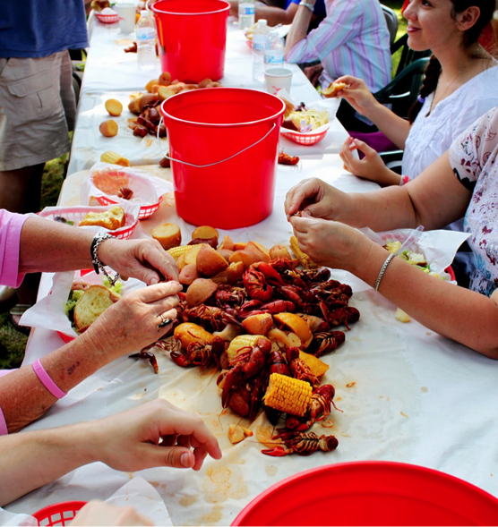 Upscale Crawfish Boil: Give Your Backyard Boil A Pinterest