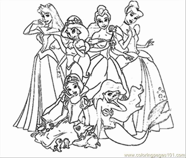 Disney Coloring Pages Pdf Lovely Disney Princess Coloring Pages For Toddlers Princess Coloring Pages Disney Princess Coloring Pages Princess Coloring