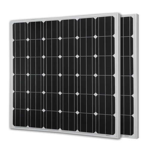 Renogy 300watts 2pcs 150w Monocrystalline Photovoltaic Pv Solar Panel Ul Listed Module 12v Bat Flexible Solar Panels Solar Panels Monocrystalline Solar Panels