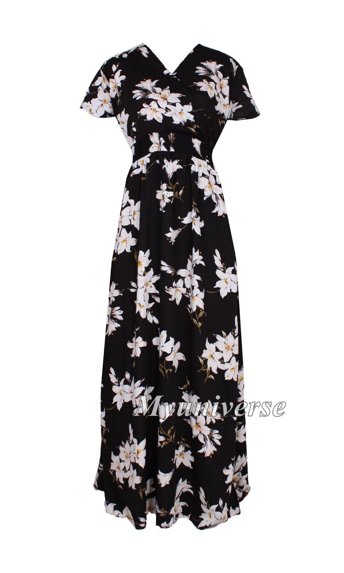 Summer Dress Party Dress Maxi Dress Full Length Long V Neck Sundress Plus Size Clothing Beach African Floral Summer Dresses Maxi Dress Party Summer Party Dress [ 2000 x 1200 Pixel ]