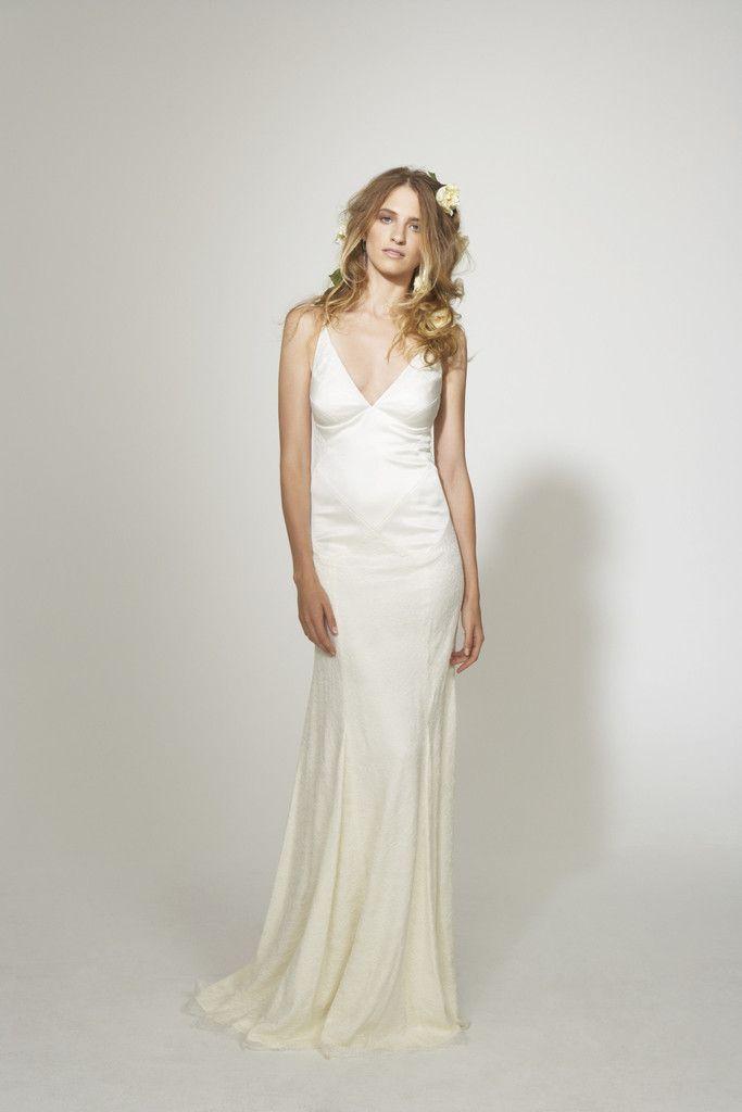 Moderno Nicole Miller Elizabeth Vestido De Novia Ideas Ornamento ...