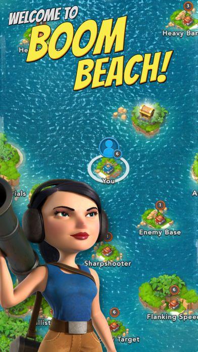 iPhone Screenshot 1 Boom beach, Boom beach hack, Boom