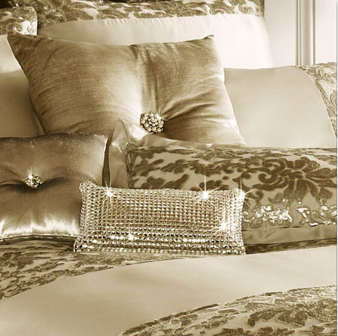 The latest jewel in the crown cushion from kylieminogue