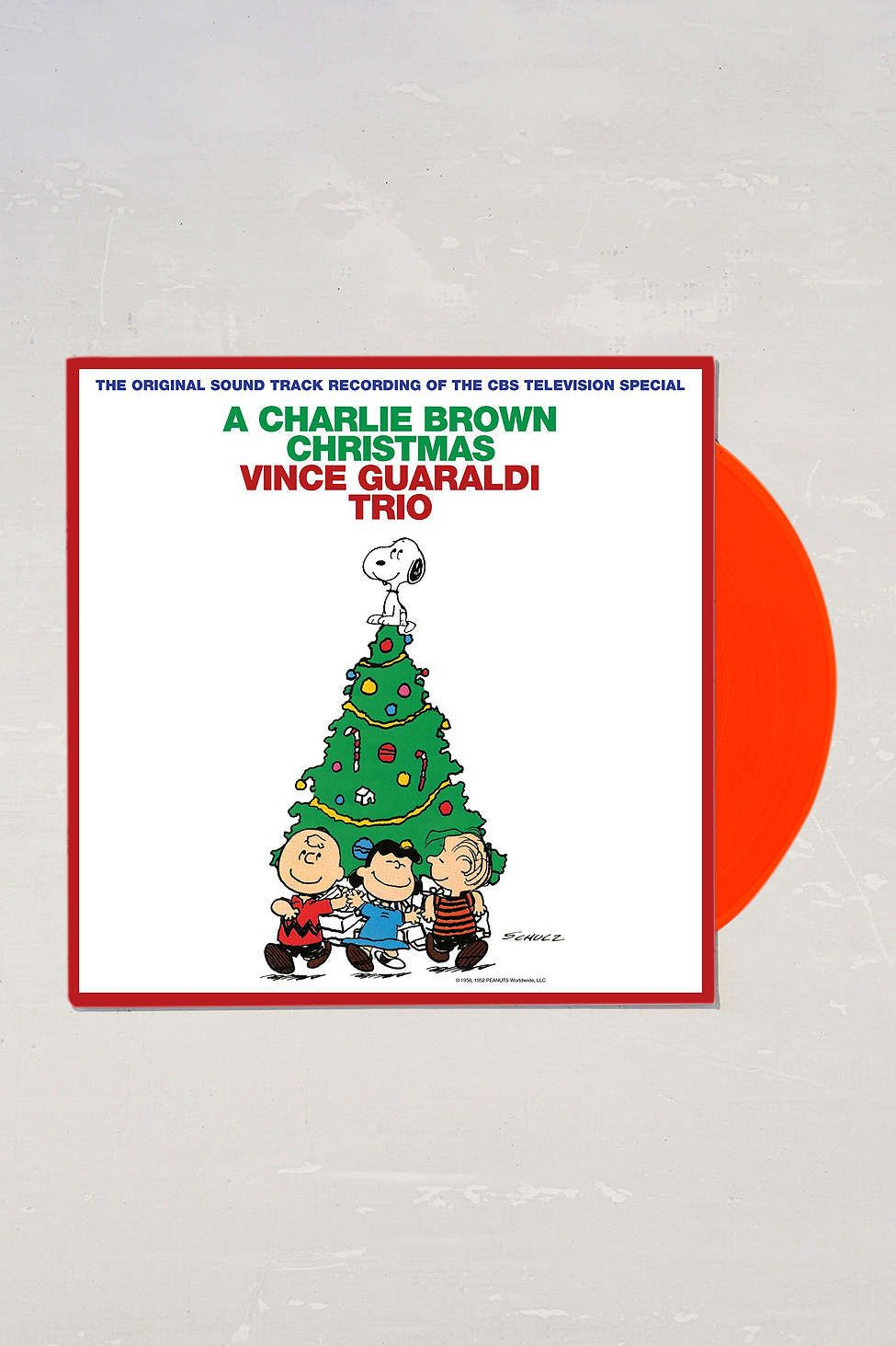 Vince Guaraldi Trio - A Charlie Brown Christmas LP | Vince guaraldi ...