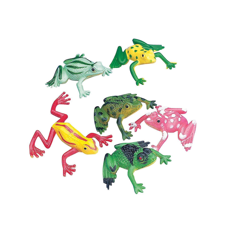 Colorful Mini Frogs Johann' Bug Themed 8th Birthday