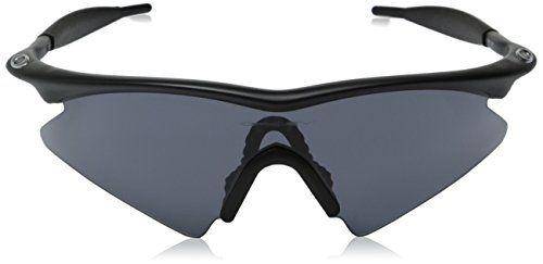 78a6e6a713 ... sweden oakley mens m frame sweep sunglassesmatte black frame grey  lensone size 7d4e3 efb4f