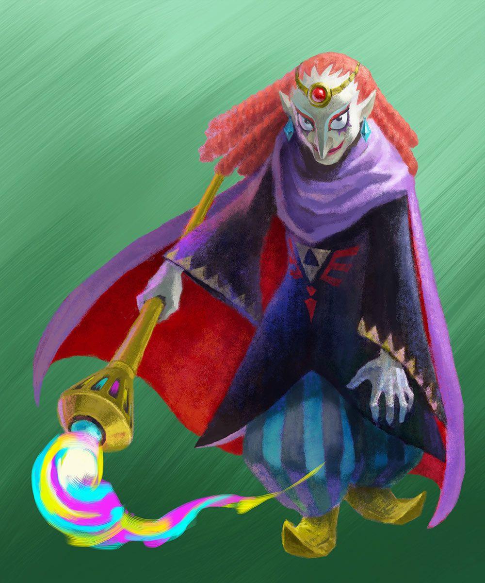 Villain From The Legend Of Zelda A Link Between Worlds Legend