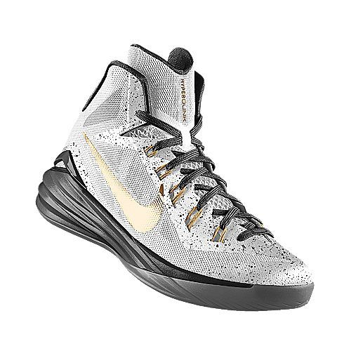 the best attitude a24b3 c95c0 I designed the white, gold and black Vanderbilt Commodores Nike men s  basketball shoe.