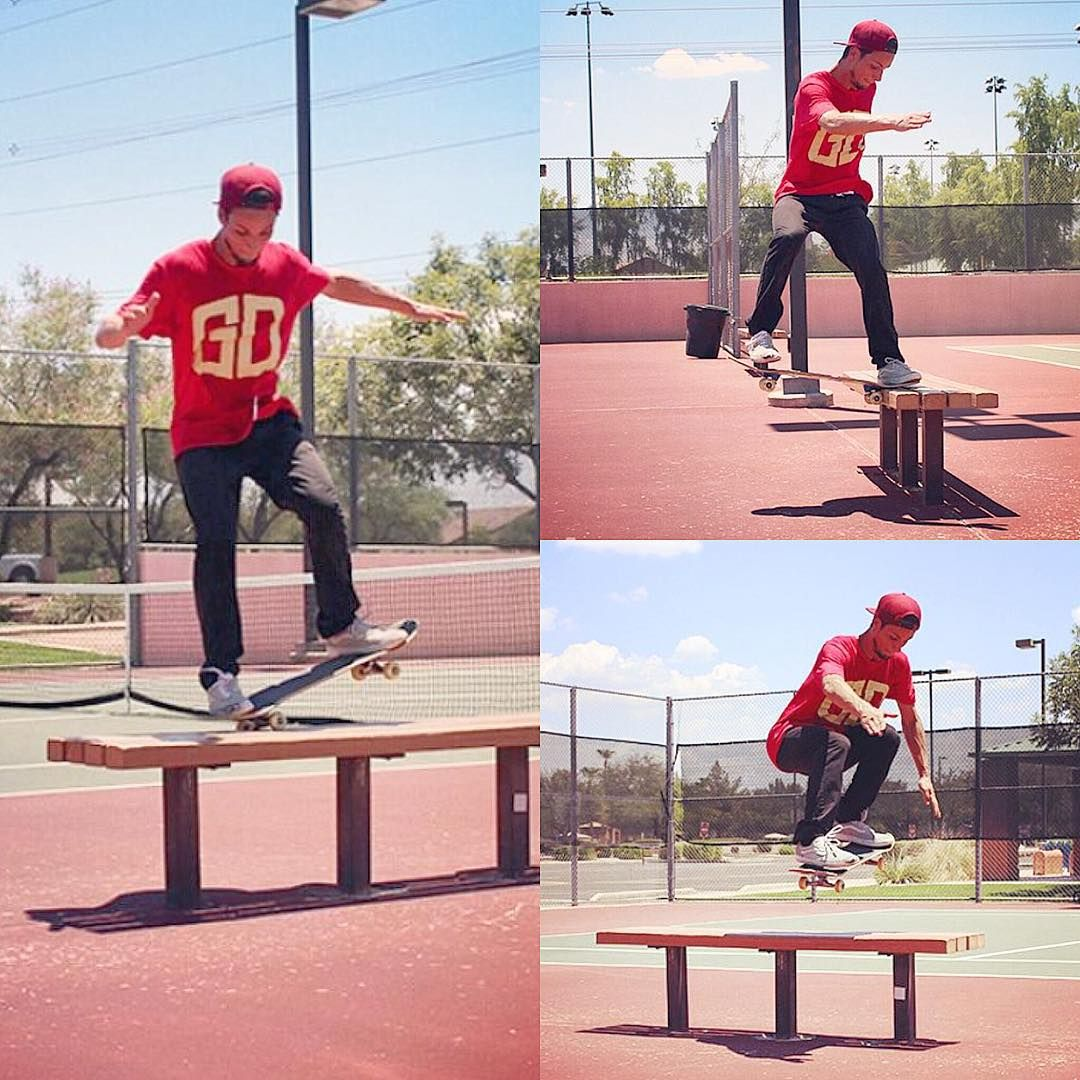 """GOLD DEEDS on Instagram: """"@ericdeckerr killing the #az #streets in our #bars #shirt!  shot by @tjedits20xx #golddeeds #goldones #goldfromday1 #skateboarding #lifestyle #fashion"""""""