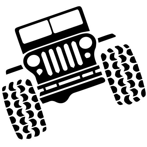 Jeep Clipart Flexing Frames Illustrations Hd Images Photo