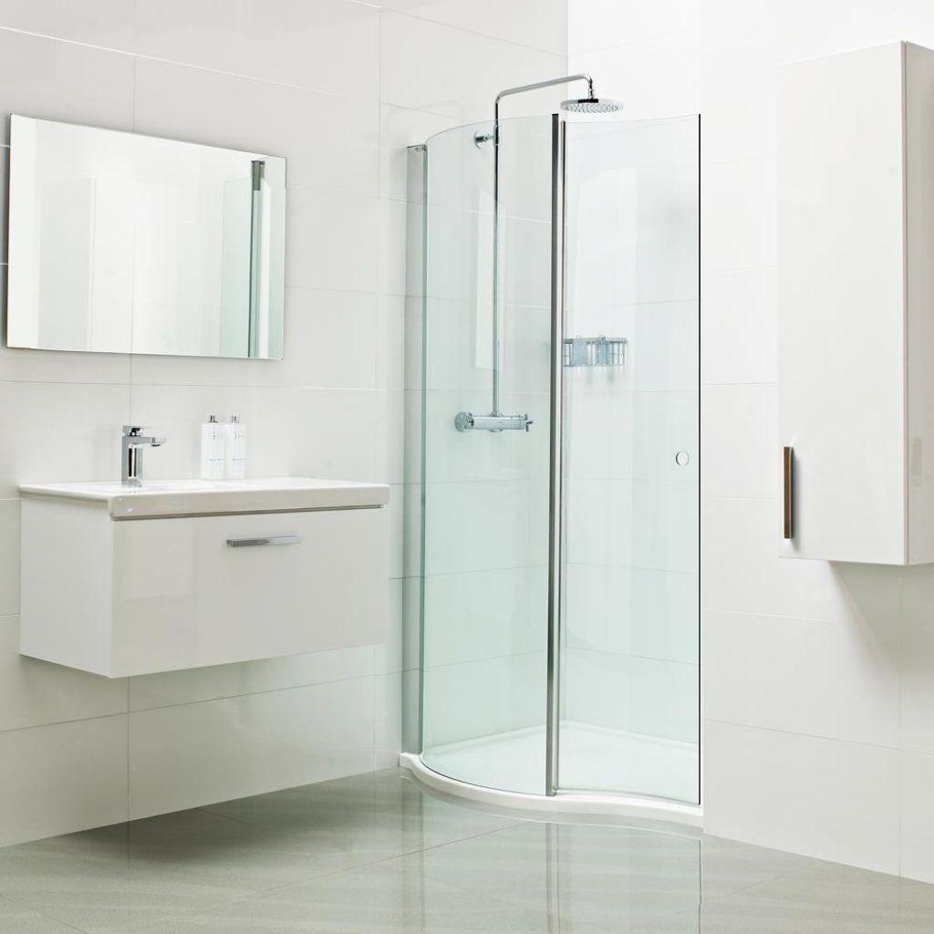 Narrow Opening Shower Door | http://sourceabl.com | Pinterest ...