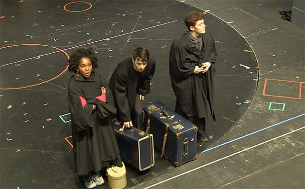 Go Behind The Scenes Of Harry Potter And The Cursed Child In A New Video Harry Potter Cursed Child Harry Potter Curses Cursed Child