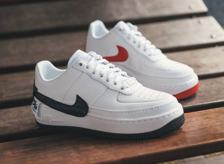 newest 21184 8acf2 Nike Air Force 1 Jester XX  White University Red   Black