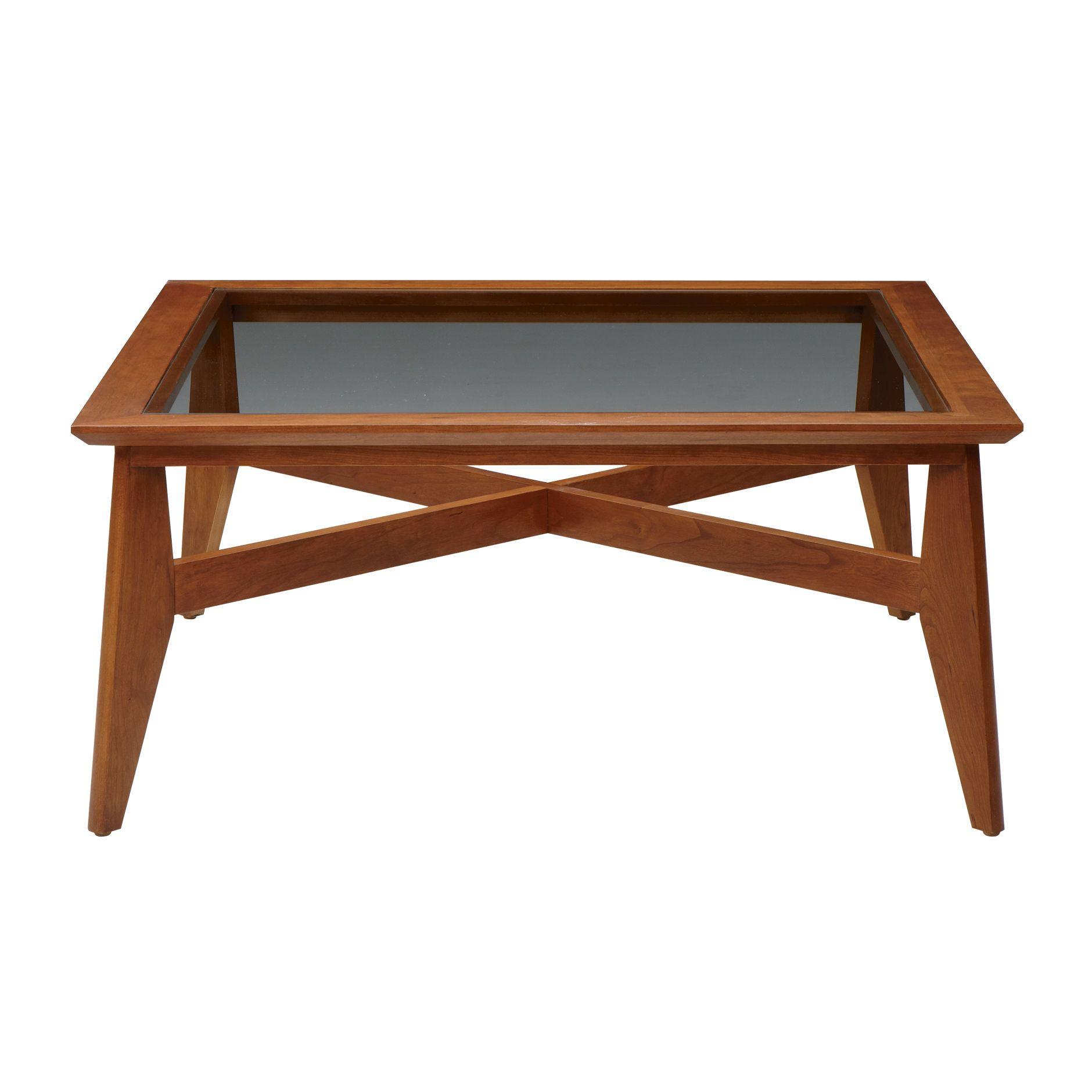 Copper Top Coffee Table Ethan Allen: Ethan Allen $636 38 X 38 X 17.5