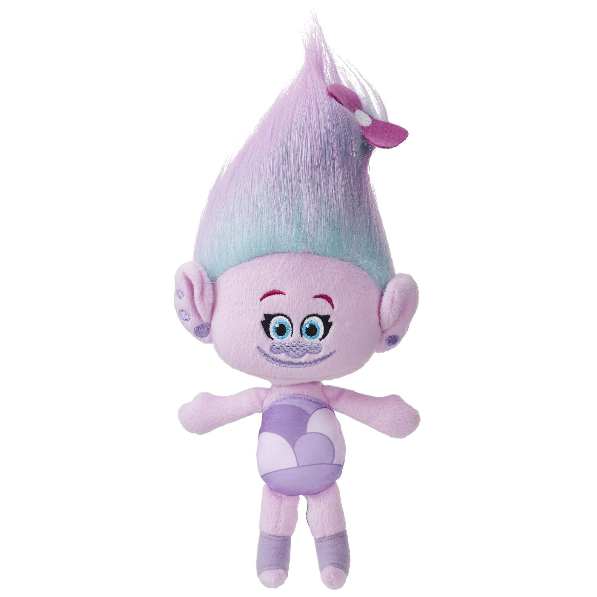 Dreamworks Trolls Satin Hug N Plush Doll Multi Color Plush Dolls Dreamworks Trolls Dreamworks