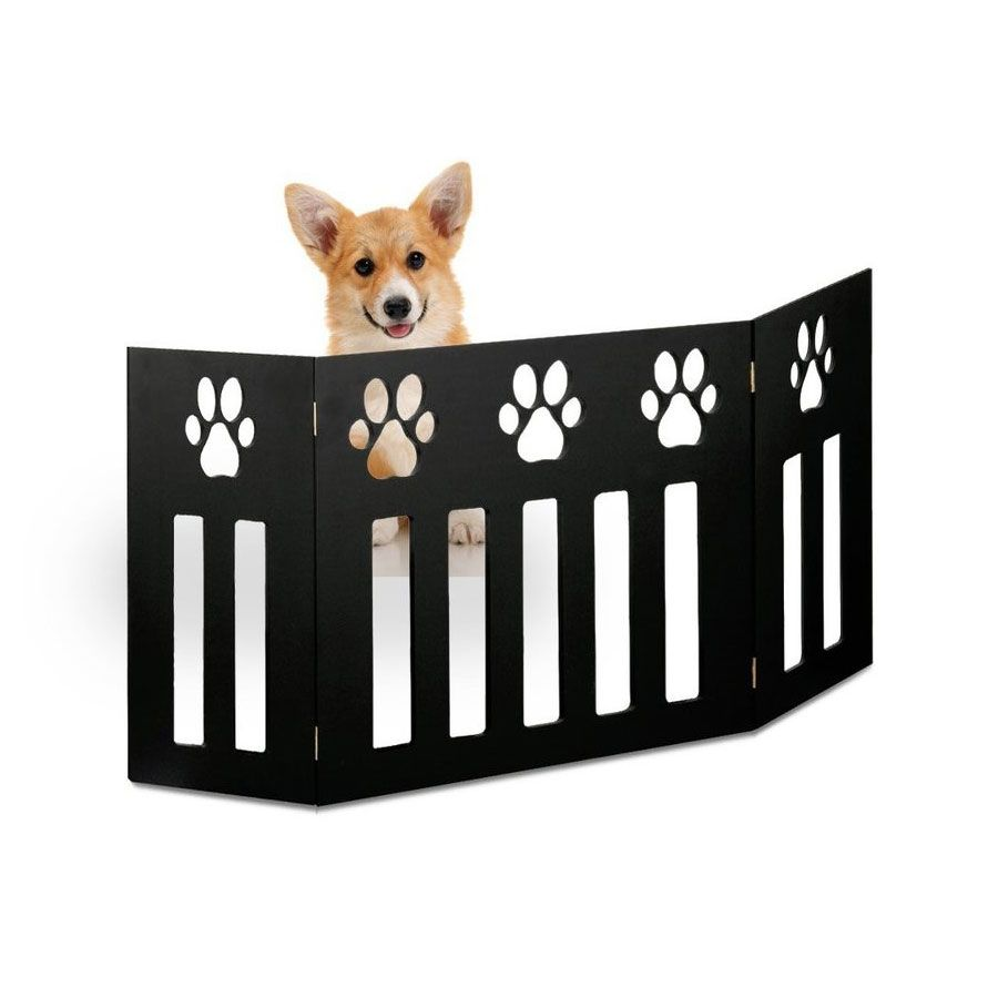 Etna 2 Pack Of Pet Dog Gates Free Standing 48 In Wide 19 In Tall