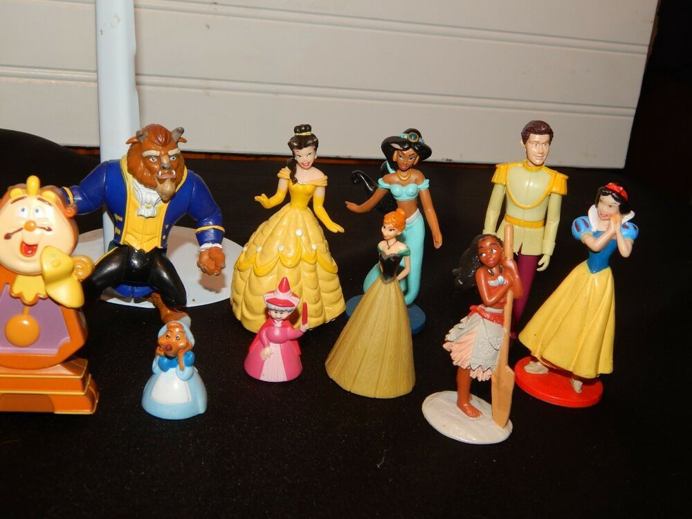 Disney princess figure toys lot fun or cake topper belle