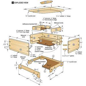 Jewelry Box Woodworking Plans Secret Compartment Jewelry Box Plans Wooden Box Plans