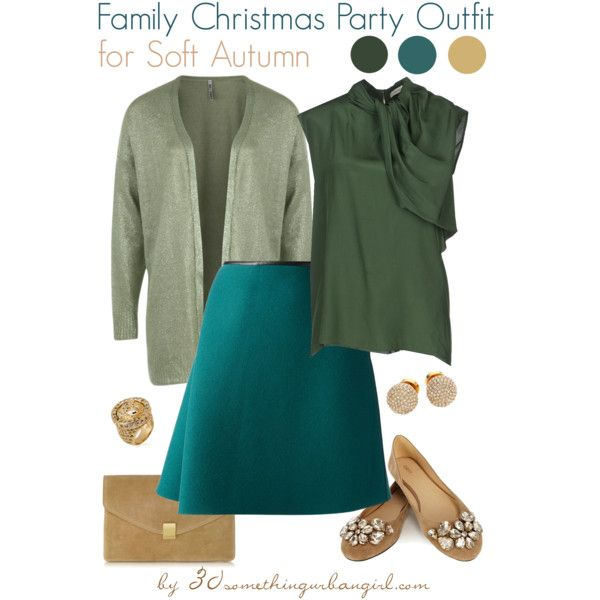 a921ccc46374 Posh Christmas party outfits for Soft Summer and Soft Autumn ...