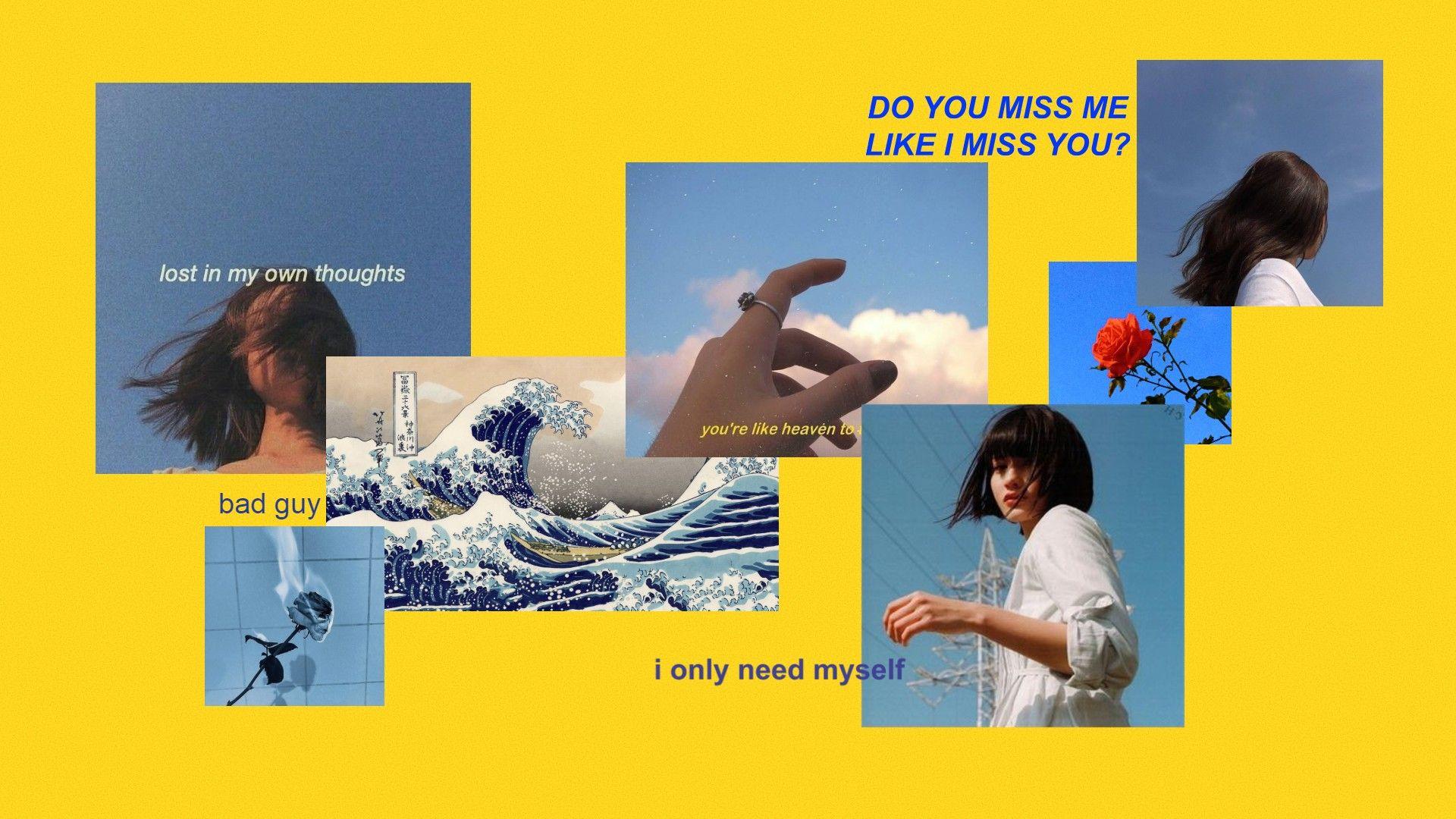 Aesthetic Desktop Wallpaper Desain Ide Ide Kamar Tidur