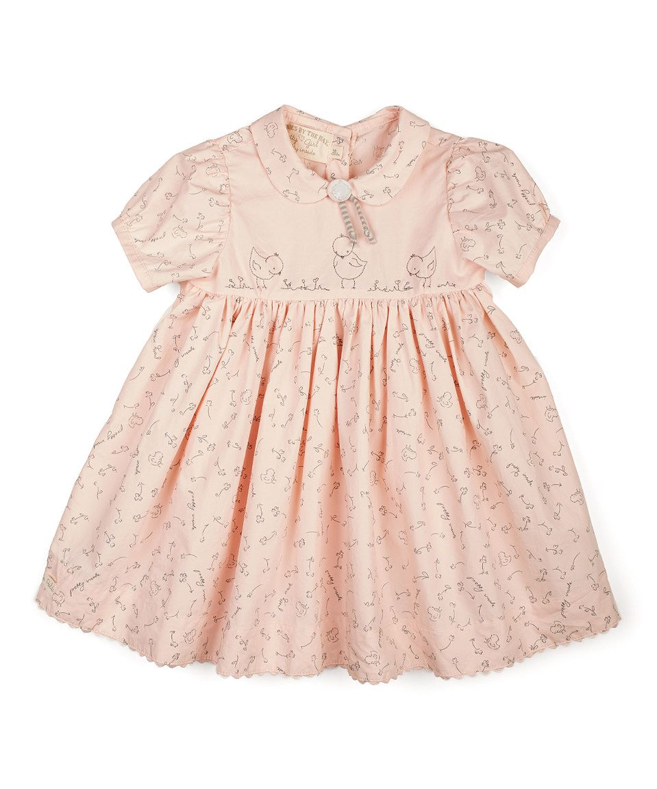 d0e6a0f2c888 Look at this  zulilyfind! Bunnies by the Bay Pink Pretty Sweet Dress ...