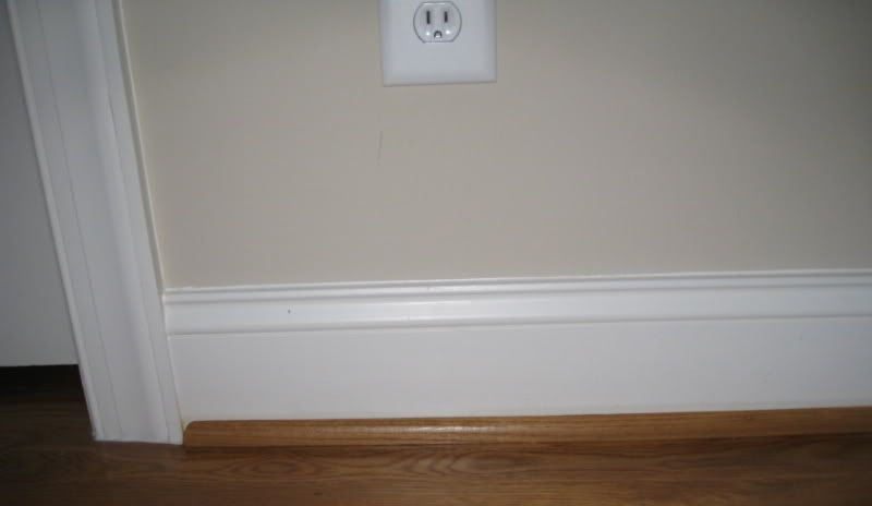 Baseboard Molding My Baseboard Trim Is About 5 1 2 Inches And