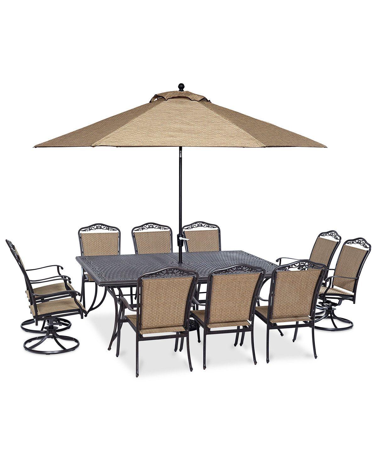Beachmont Ii Outdoor 11 Pc Dining Set