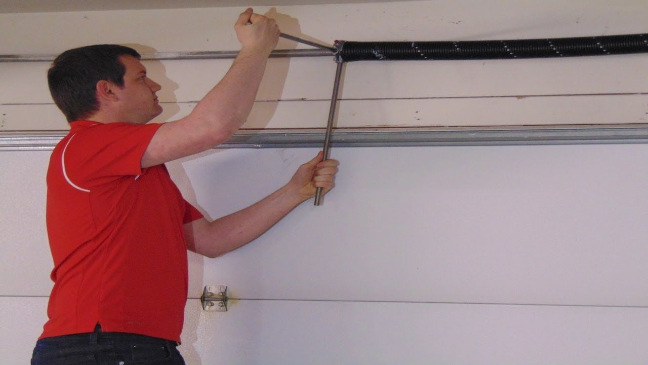 Garage Door Torsion Spring Replacement How to by