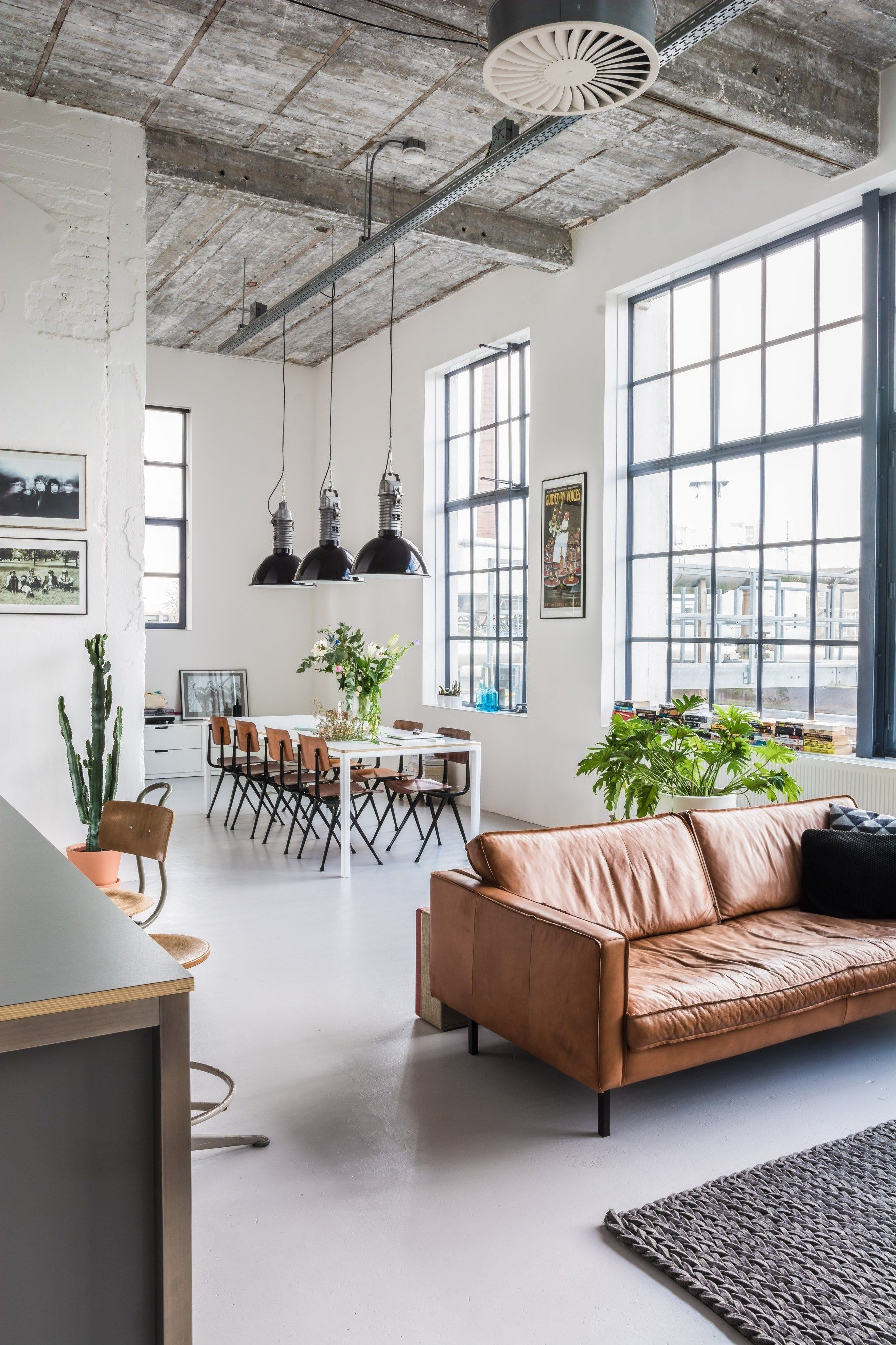 Get This Industrial Design Look For Your Living Room | Industrial ...