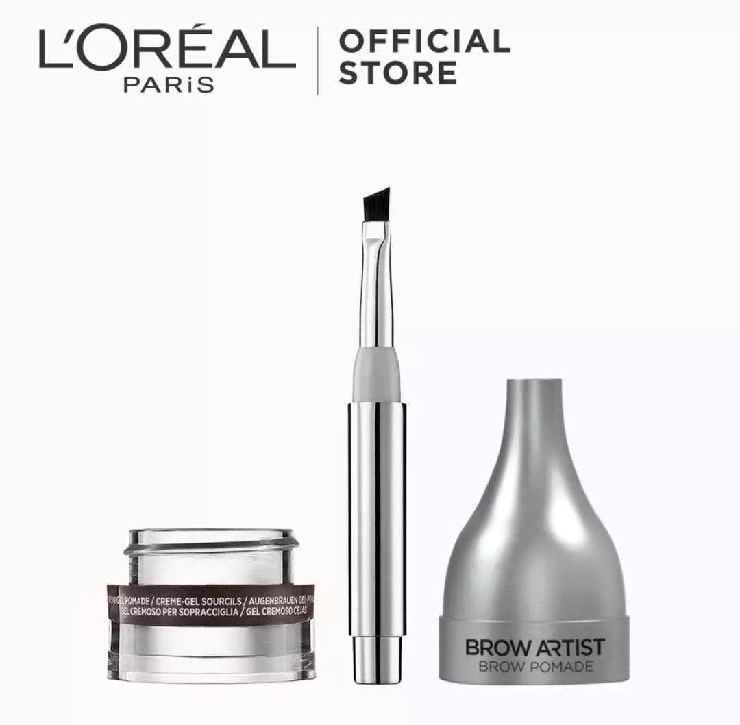 Loreal paris brow artist pomade eye brow pomade makeup