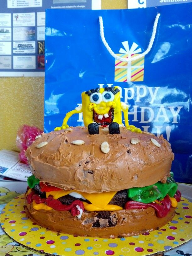 My grandson's birthday cake