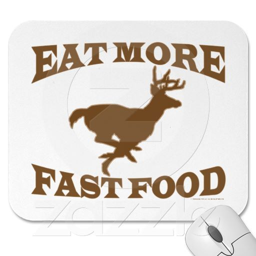 Hunter Hunting Sport Funny Eat More Fast Food Buck Hunting Sport Sports Humor Funny