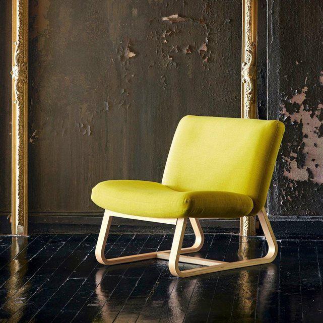 Expression libre sur un air scandinave pour ce fauteuil signé Bina