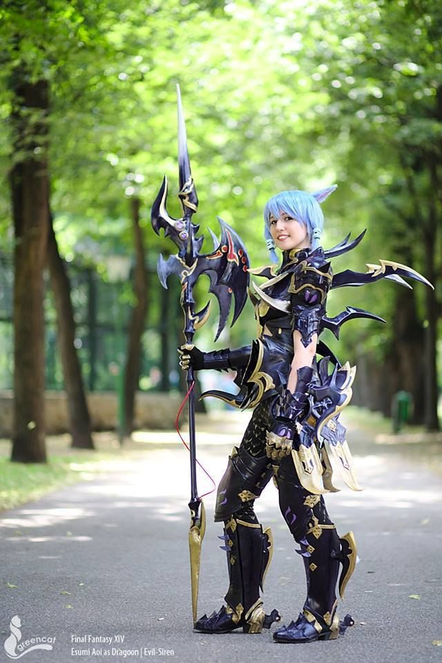 Dragoon Armor From Final Fantasy Xiv Cosplayer Evil Siren Cosplay