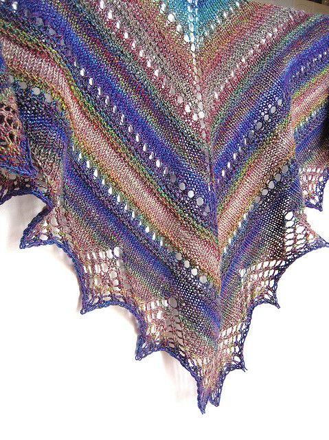 Handspun Prism Shawl by tanislavallee, via Flickr
