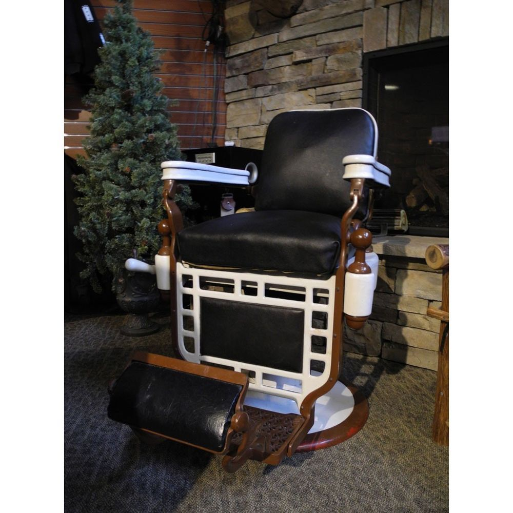 Antique Theo A Kochs Barber Chair Circa 1930   Great Condition