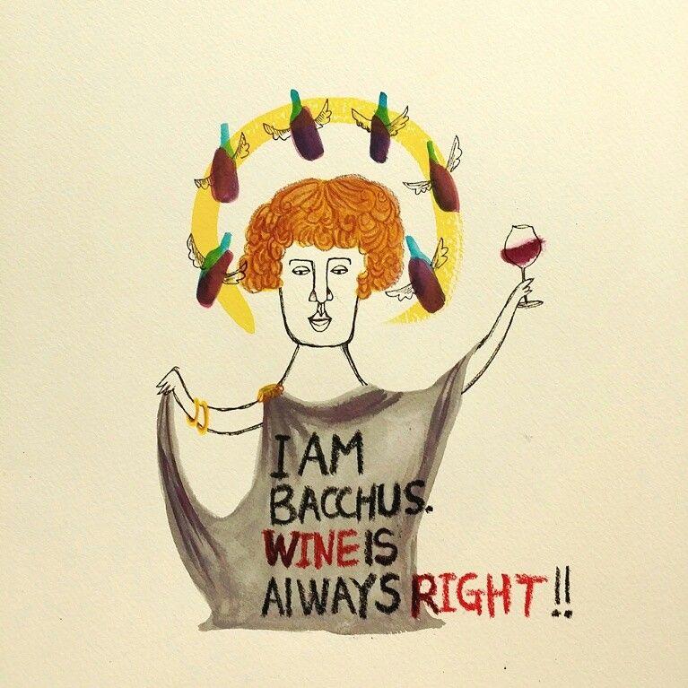ㅋㅋㅋㅋㅋㅋ ;) I love wine!!   #mongcha #몽차 #illust #illustration #wine #와인 #bacchus #바쿠스 #디오니소스 #dionysos #그리스로마신화 #drawing