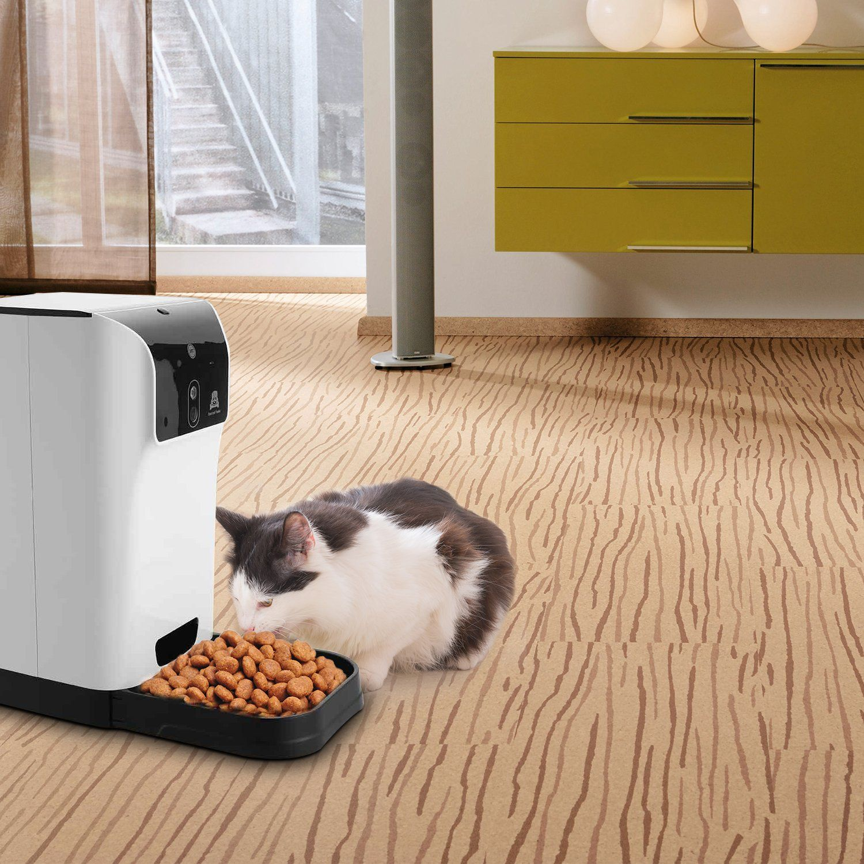 Noeler 6 6l Pet Smart Feeder Automatic Cat Feeder With Camera Dog