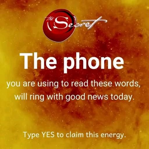 Type ye to claim this energy 😍