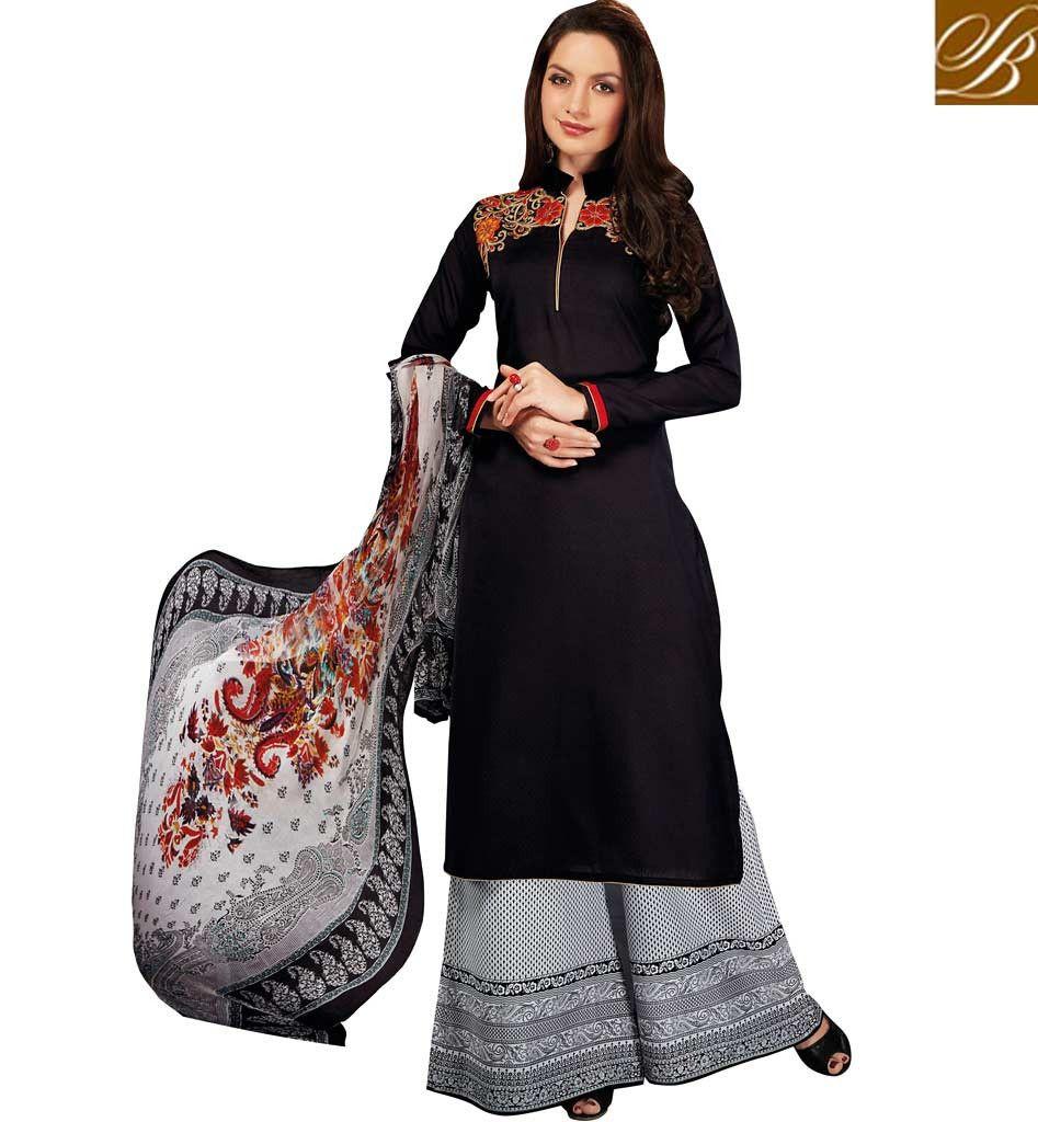03044c26377 GORGEOUS PAKISTANI PLAZO SUITS ONLINE SHOPPING VDRUH10203 – Stylish Bazaar