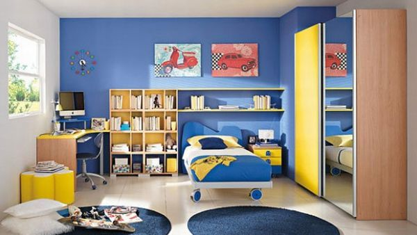 Blue And Green Boys Bedroom | 23 Modern Children Bedroom Ideas For The  Contemporary Home