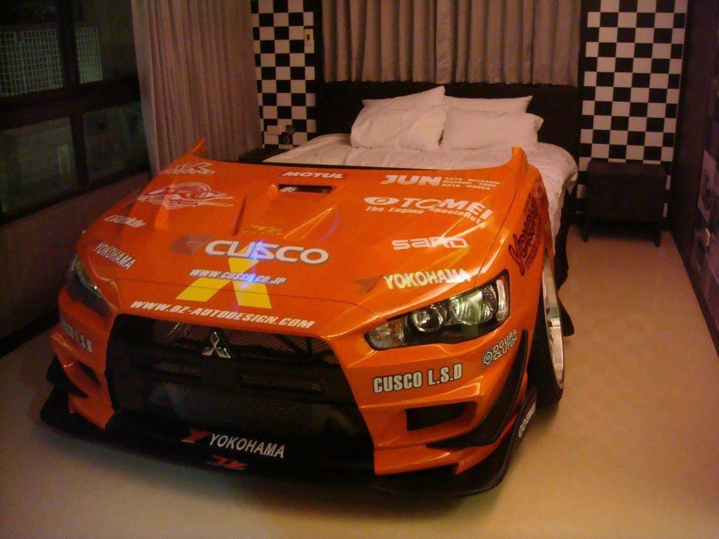 This Bed Is For The Next Level Of Evo