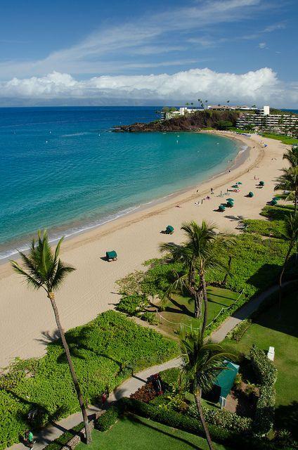 Ka Anapali Beach Maui The Kaanapali Beach Hotel Is In A