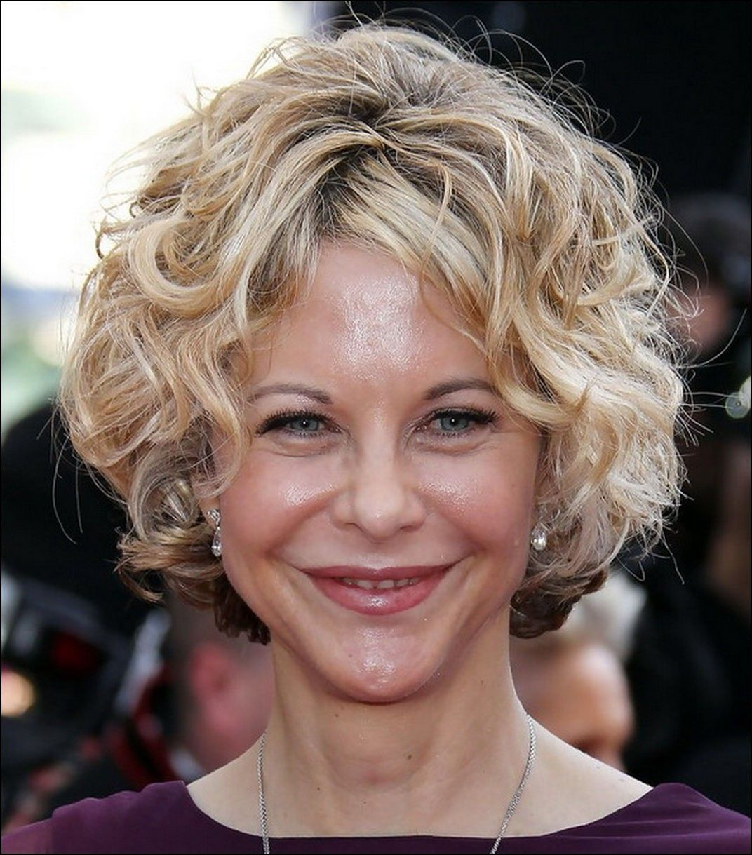 Short hairstyles for older women with curly hair hairstyles ideas