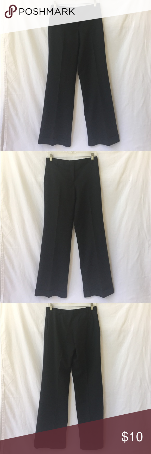 J Crew 100% wool pants size 2 EUC• cuffed leg• staple pants for your wardrobe! J Crew Pants Trousers