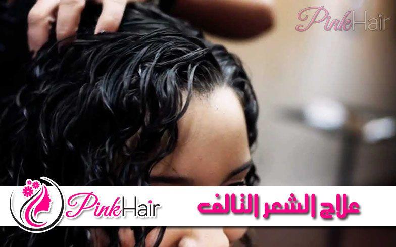 علاج الشعر التالف وتقصفه بأكثر من وصفة طبيعية وآمنة Pinkhair Hair