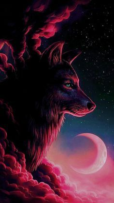 Red Wolf wallpaper by McFurkan74 - 9b1b - Free on ZEDGE™