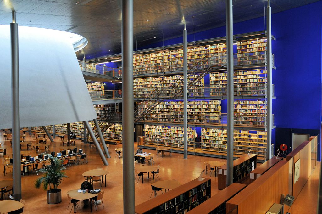 Image result for delft university of technology library