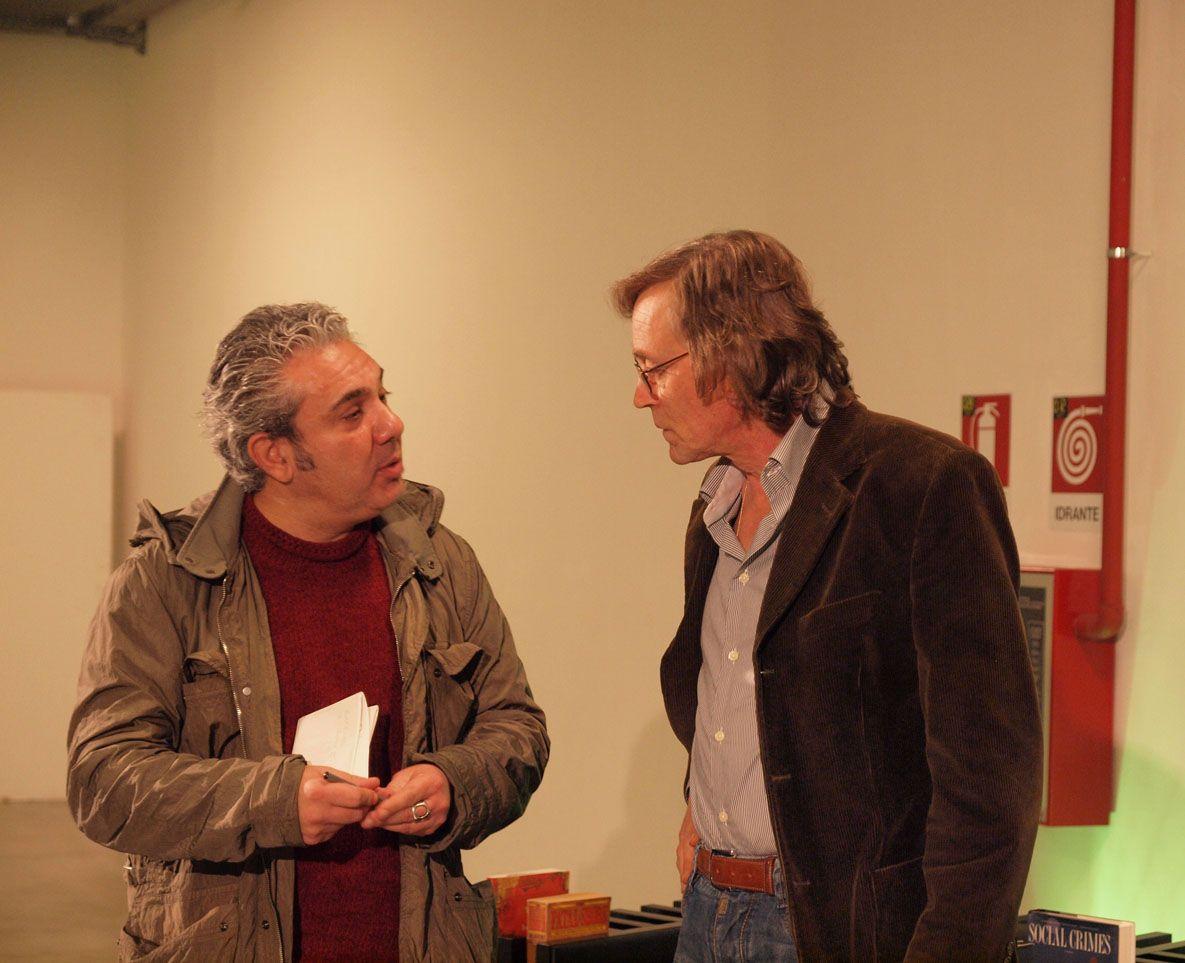 Andrea Vitali e un fan